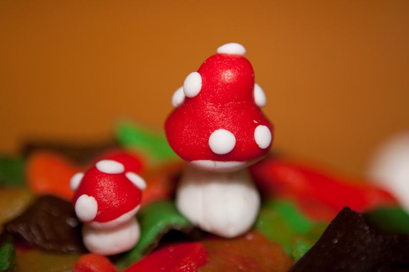 Zelf herfst versiering voor taart en cupcakes maken for Ballonnen versiering zelf maken
