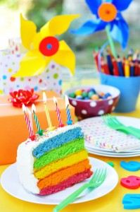 Regenboog cupcakes maken