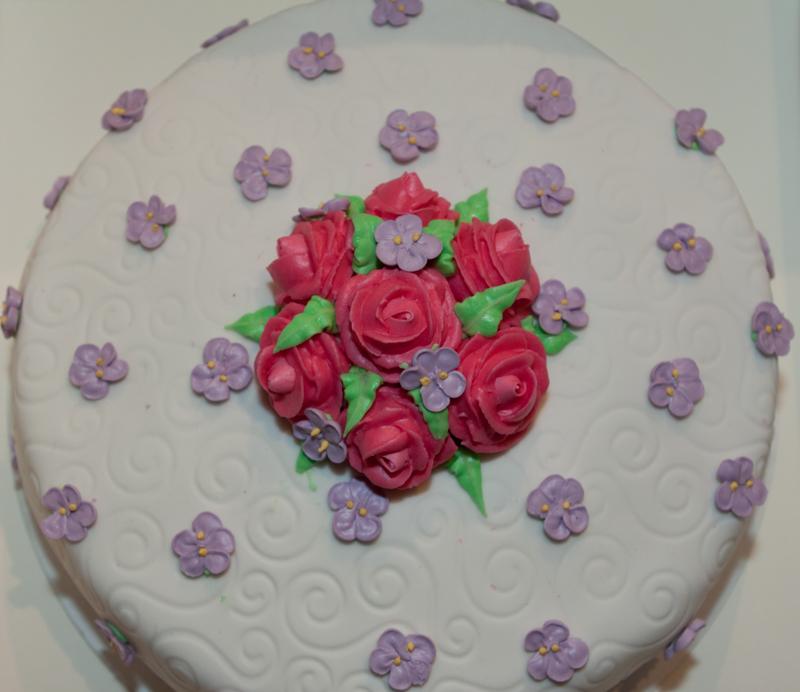 Betere Zelf taart met bloemen maken via de Wilton methode | Taarten maken PD-98